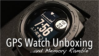 ASMR GPS Watch Unboxing (soft spoken ramble, cardboard, slow tapping) screenshot 4