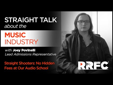 Straight Shooters | No Hidden Fees at Our Audio School