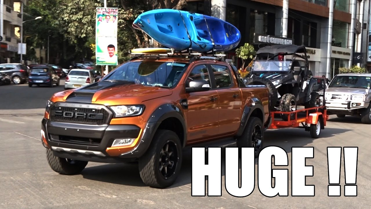 India's First: 2017 Ford Ranger Wildtrak | SupercarsInBangalore #75 - YouTube