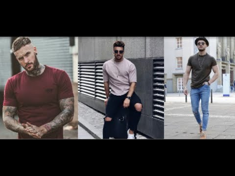 Latest Mans T Shirt Style & Outfits 2019    Men's Fashion Inspiration Lookbook    PBL 8