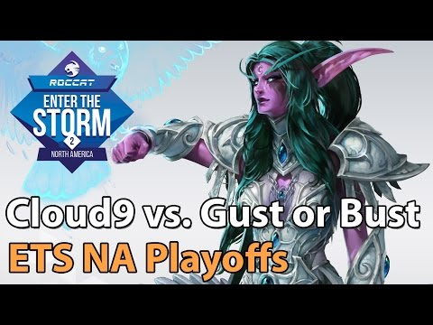 ► Heroes of the Storm Pro Gameplay: Cloud9 vs. Gust or Bust - ETS NA Finale
