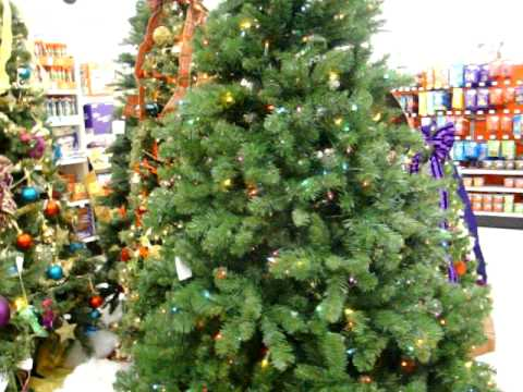 rotating christmas tree at kmart - Kmart White Christmas Tree