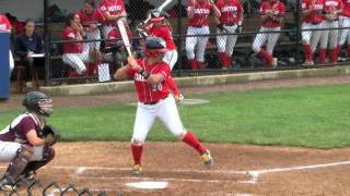 Dayton Softball: Krista Gustafson Grand Slam