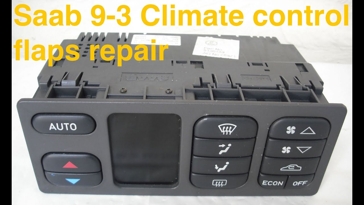 maxresdefault saab 9 3 1998 heater box repair, how to repair flaps motor youtube Saab 9000 Aero at gsmportal.co