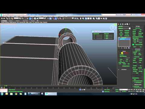 Modeling A Door Hinges Handle 3ds Max Time Lapse