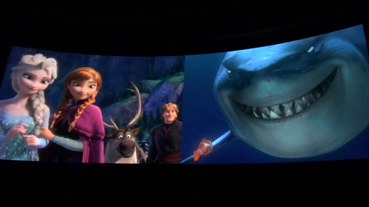The Great Movie Ride NEW Finale Film Movie Montage, Disney's ...
