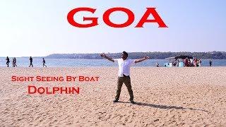 Goa Sightseeing By Boat || Miramar Goa beach