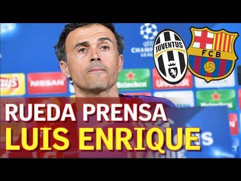 Juventus - Barcelona   Rueda de prensa de Luis Enrique   Diario AS