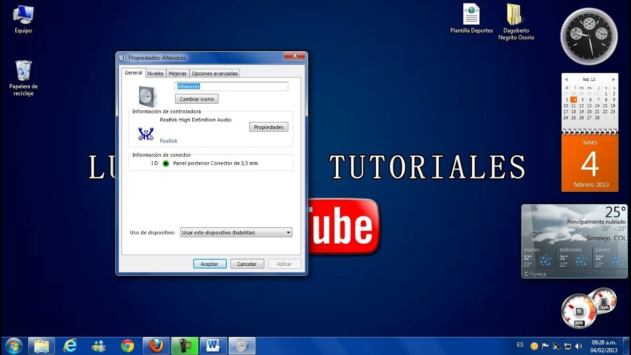 how to make volume louder on windows 7