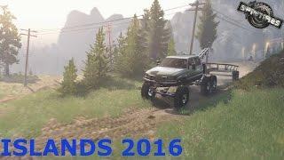 Spintires I Islands 2016 I Map Mod I QUAZZYMOTA420 6X6 GMC I PC Gameplay