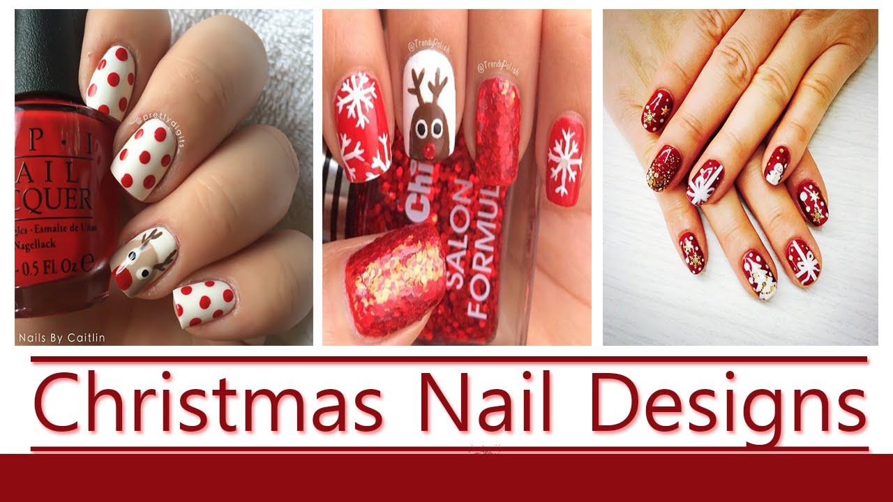 Christmas nail designs 2015 new hd youtube christmas nail designs 2015 new hd prinsesfo Image collections