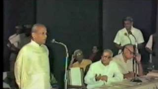 Unveiling of Ramabhagavatar and guru portrait at the Music academy chennai   part 2 of 3