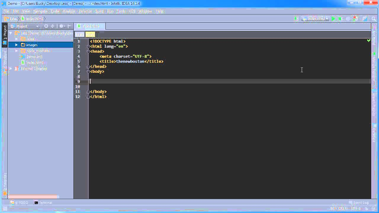 Less CSS Tutorial for Beginners - 2 - Installing on JetBrains IDE