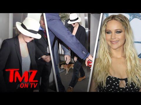 Don't Touch Jennifer Lawrence's Dog! | TMZ TV