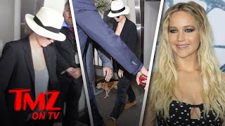 Don't Touch Jennifer Lawrence's Dog! | TMZ TV