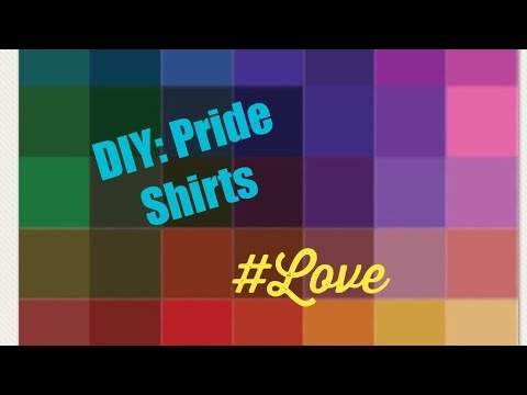 How to iron letters on shirts | 🌈Pride Night with the WNBA