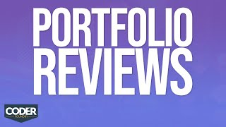 Web Developer Portfolio Reviews