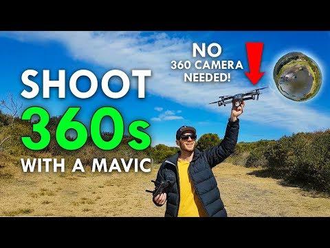 How To Shoot 360 Photos With A DJI Mavic Pro
