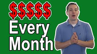 5 Best Monthly Dividend Stocks for Passive Income