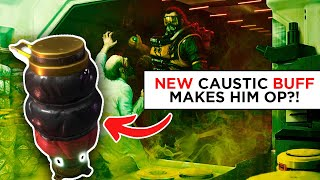*NEW* CAUSTIC BUFF MAKES HIM OP! - Apex Streamers Epic & Funny Moments
