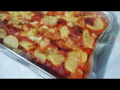 Patate al forno alla parmigiana