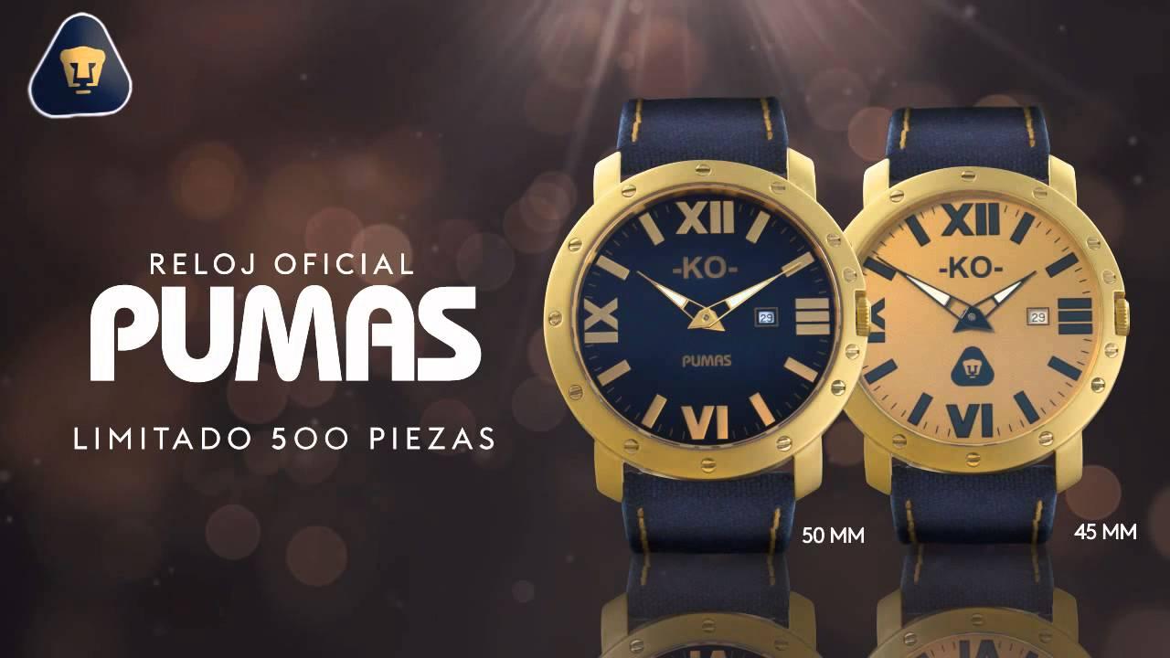 674124054 Presentación Reloj Oficial de Pumas - YouTube