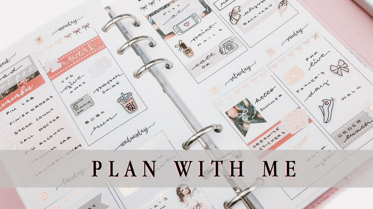 Plan With Me || ft. PLP 'Citrus Summers'