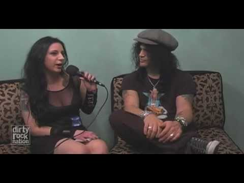 "Slash Interview Charlotte North Carolina ""Dirty Rock Nation"" 2011"