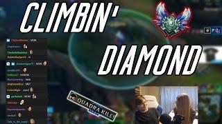 C9 Sneaky | Season 7 Ladder: Climbin' Diamond (ft. Mom)