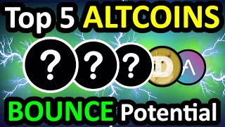 Top 5 ALTCOINS With BOUNCE Potential - Best Cryptocurrency 2021 - Best Crypto 2021 Best Crypto Coin