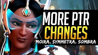 Overwatch NEW MOIRA & SYMMETRA PTR CHANGES - HUGE 740mb Patch!