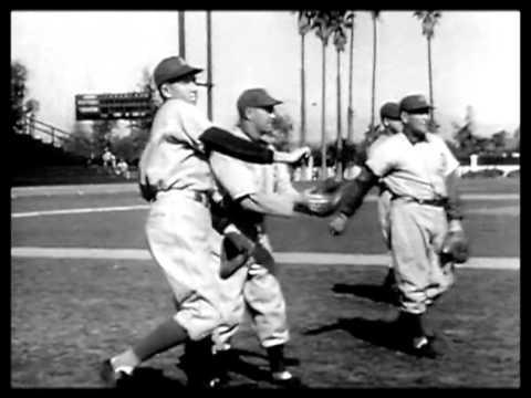 Chicago Cubs and Philadelphia Athletics in California 1941