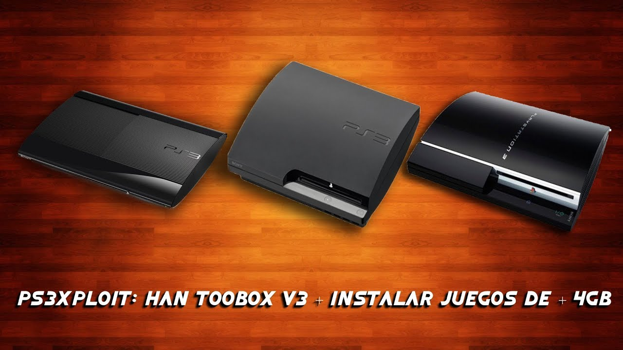PS3XPLOIT SUPER SLIM, INYECTAR JUEGOS PS3 ULTRA SLIM| HACK DEFINITIVO OFW  4 82 by XxX PedrooHD!!