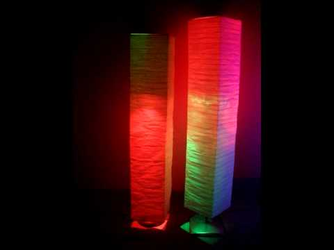 Two forte color changing light towers the floor lamp that creates two forte color changing light towers the floor lamp that creates romance youtube aloadofball Choice Image
