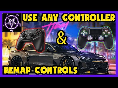 How To Use Any Controller Remap Controller Buttons In Need For Speed Heat Youtube