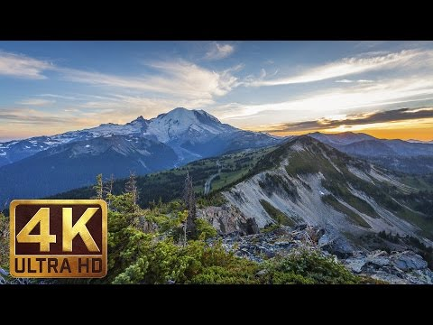 Mount Rainier National Park. Episode 1 - 4K Nature Documentary Film
