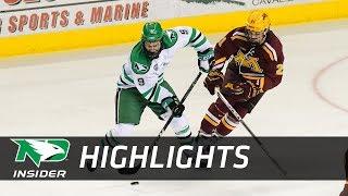 UND Hockey - Highlights: UND vs. Minnesota - 10/20/17