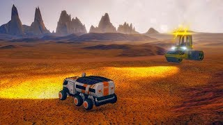 Space Colony Construction Simulator 3D: Mars City - Android Gameplay HD screenshot 5