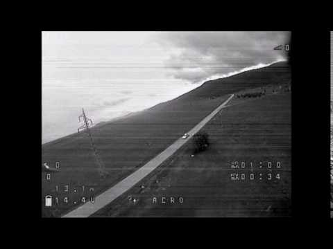 CLOSE ENCOUNTERS OF THE THIRD KIND with 110kV power line