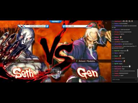 Capcom Cup 2015 Top 8 with stream chat