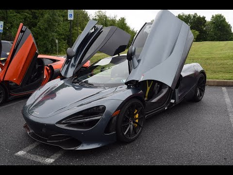 homepage tile video photo for Cops, Cars, And Coffee Summer Smash 2018 (Skyline, Supra, McLaren 720s, and a Holden?)