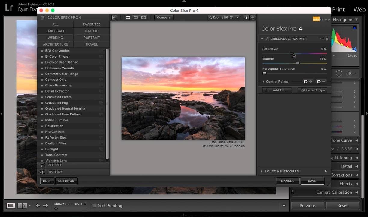 Teórico artículo Consecutivo  HOW TO: Use Nik Software Collection With Lightroom - EASILY - YouTube