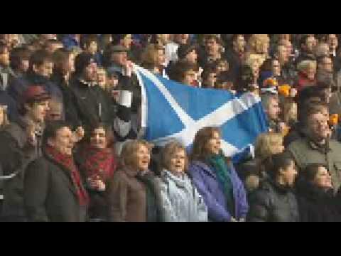 Scotland vs Italy Anthems