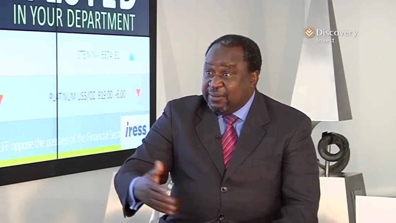 Former SARB Governor Tito Mboweni on why he offered to assist FinMin Gigaba