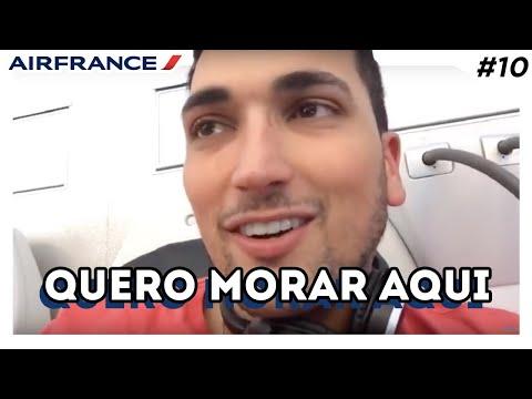 O que fazer dentro do avião - Voando de Paris para São Paulo com a Air France
