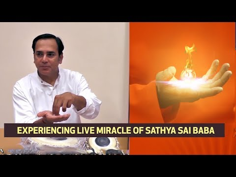 Sai Baba's Miracle in Interview Room | Sai baba First Hand