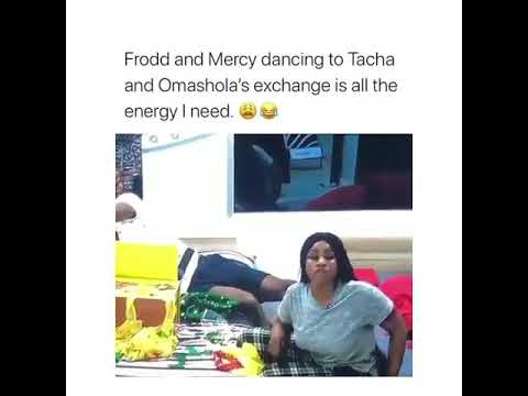 Download Frodd and Mercy seen dancing happily during a fight between Tacha and Omoshola (video)