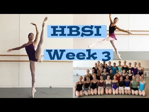 Houston Ballet Summer Week 3 Vlog
