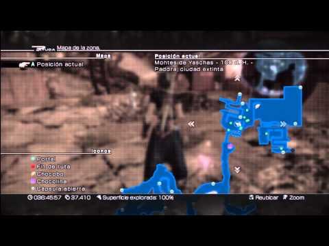 Final Fantasy XIII-2 - Guia de todos los artefactos maestros - Localización completa