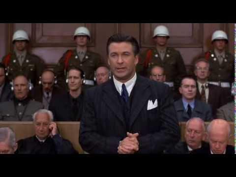 Final speech of Alec Baldwin - Nuremberg Trials (1945-1946)